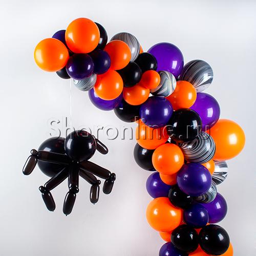 """Фото №2: Инсталляция """"Яркий Хэллоуин"""""""