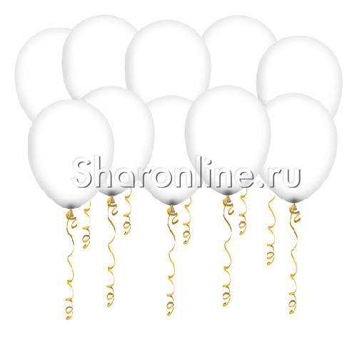 Фото №1: Белые матовые шары