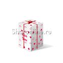 Фото №3: Большая коробка-сюрприз с премиум сердцами 41см