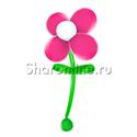 Фото №1: Большой цветок из шаров малиновый