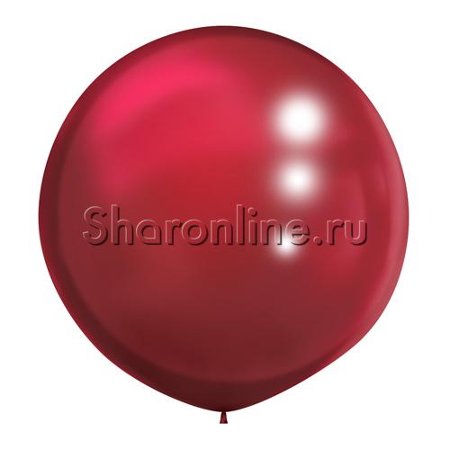 Фото №1: Большой шар бургундия 80 см