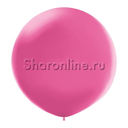 Фото №1: Большой шар фуксия 80 см