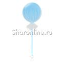 Фото №1: Большой шар голубой в фатине 80 см