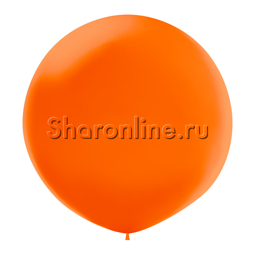 Фото №1: Большой Шар оранжевый 80 см
