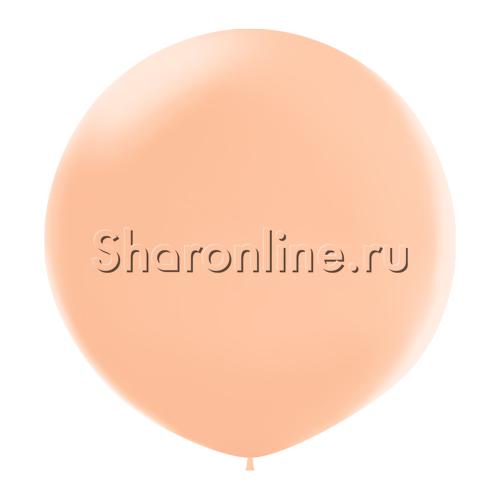 Фото №1: Большой Шар Персиковый 80 см