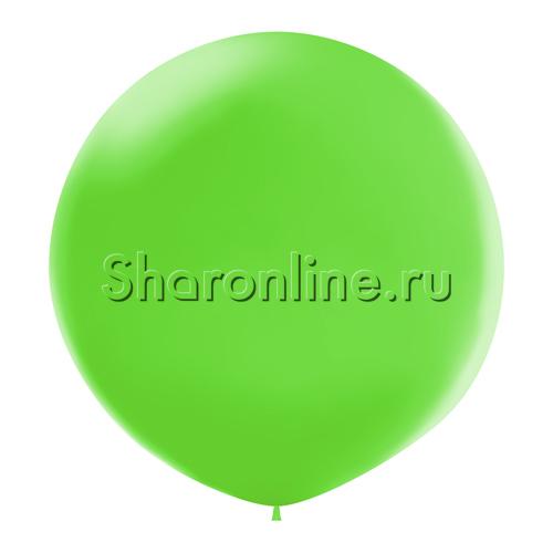 Фото №1: Большой шар салатовый 80 см