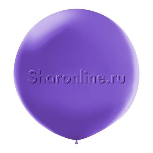Фото №1: Большой шар сиреневый 80 см