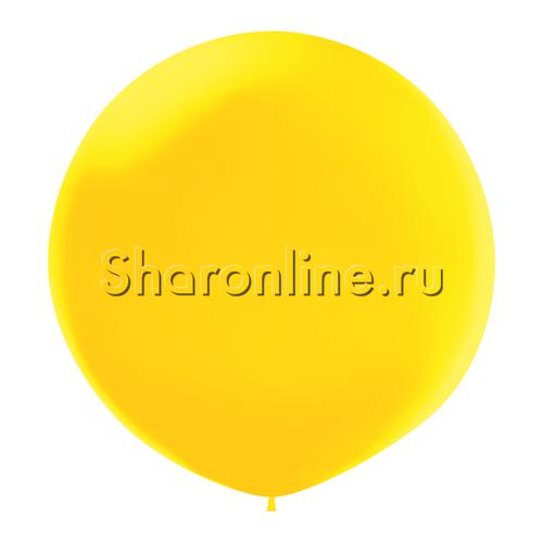 Фото №1: Большой Шар желтый 80 см