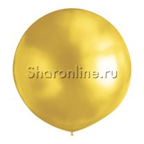 Большой шар золотой 80 см