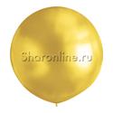 Фото №1: Большой шар золотой 80 см