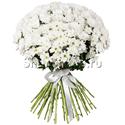 Фото №2: Букет белых хризантем