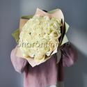 Фото №2: Букет белых роз