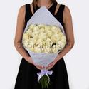 Фото №1: Букет белых роз Премиум