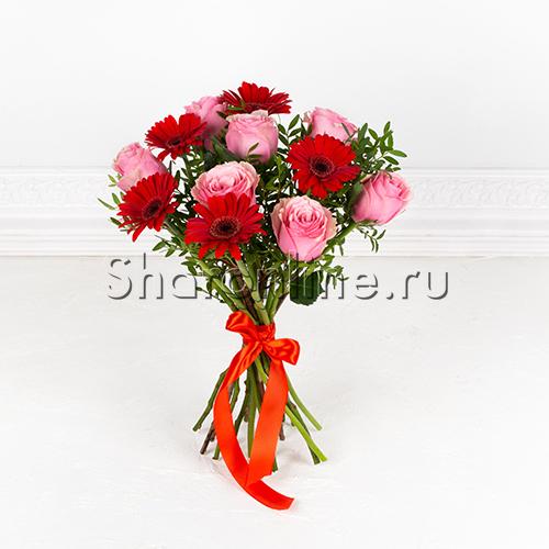 "Фото №1: Букет цветов ""Дуэт"""
