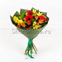 """Фото №1: Букет цветов """"Первый учитель"""""""