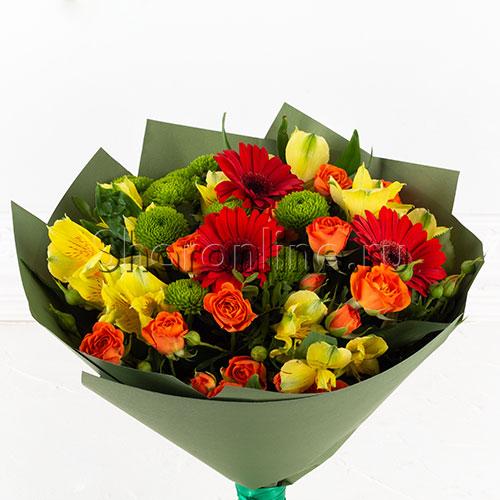"""Фото №2: Букет цветов """"Первый учитель"""""""