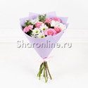 """Фото №1: Букет цветов """"Розовая нежность"""""""