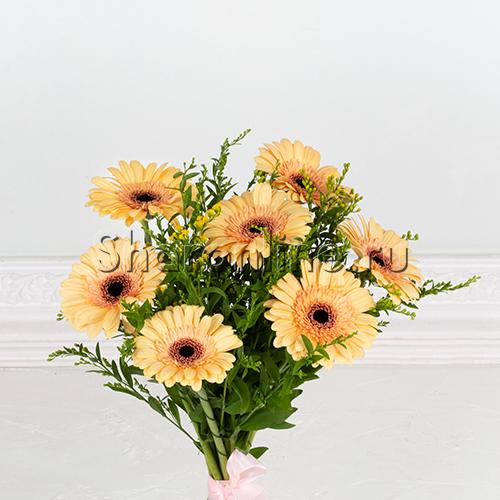 """Фото №2: Букет цветов """"Весеннее солнце"""""""