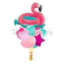Фото №1: Букет шаров Фламинго
