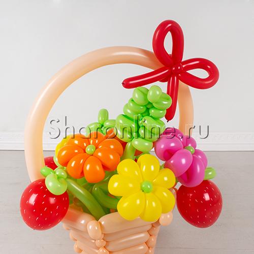 """Фото №2: Букет из шаров """"Летняя рапсодия"""""""