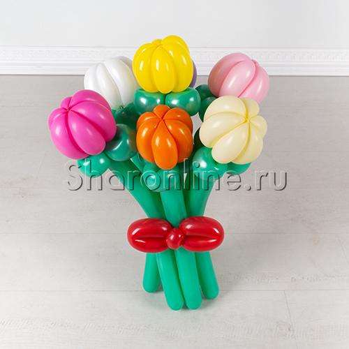 """Фото №1: Букет из шаров """"Тюльпаны"""""""