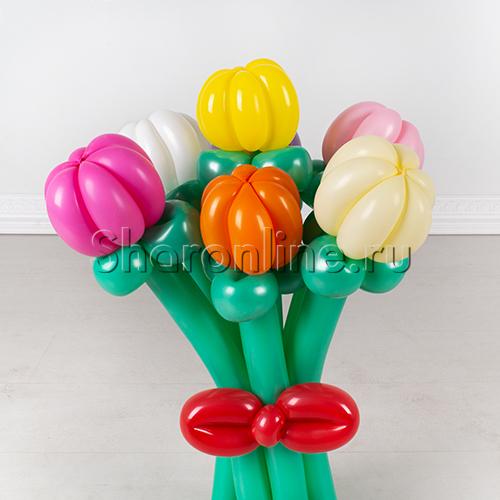 """Фото №2: Букет из шаров """"Тюльпаны"""""""