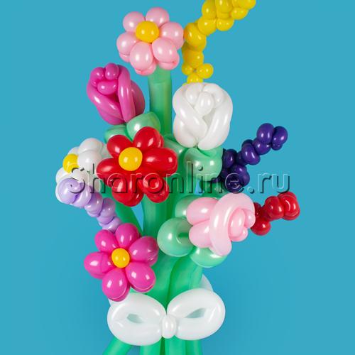 """Фото №1: Букет из шаров """"Весенний вальс"""""""