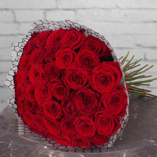 Фото №2: Букет красных роз