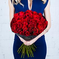 Букет красных роз Премиум