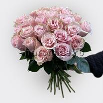 Букет роз цвета фуксия Премиум