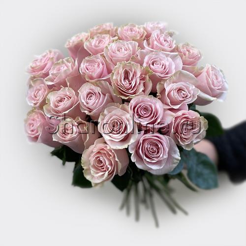 Фото №2: Букет розовых роз Премиум