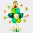 """Фото №1: Букет шаров """"Авокадо"""""""