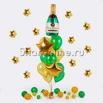 """Букет шаров """"Брызги шампанского"""""""
