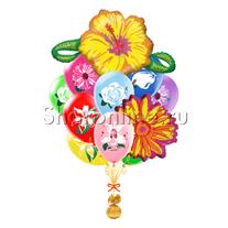 """Букет шаров """"Цветочное настроение"""""""