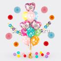 """Фото №1: Букет шаров """"Цветочный День Рождения"""""""