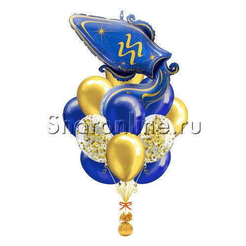 """Фото №1: Букет шаров """"Гороскоп"""" Водолей"""