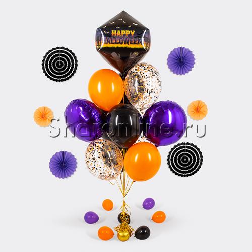 "Фото №1: Букет шаров ""Хэллоуин"""