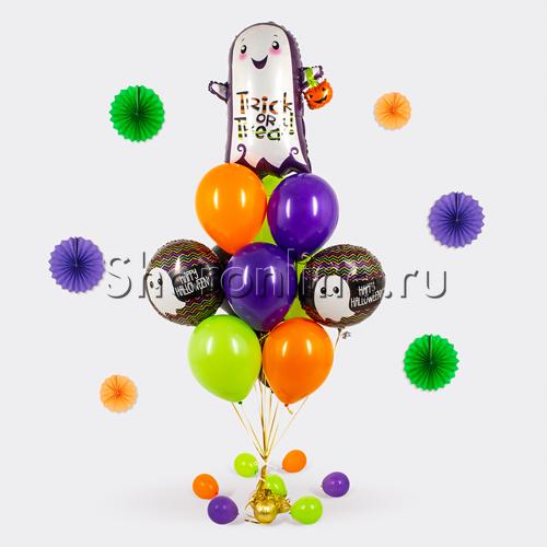 """Фото №1: Букет шаров """"Конфеты или смех"""""""