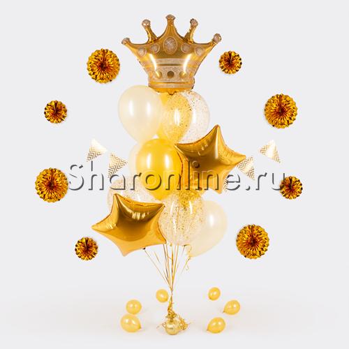 """Фото №2: Букет шаров """"Корона"""""""