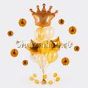 """Фото №1: Букет шаров """"Корона"""""""