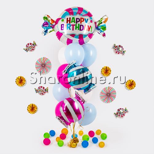 """Фото №1: Букет шаров """"Лавка сладостей"""""""