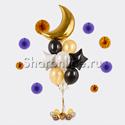 Фото №1: Букет шаров Лунная мелодия