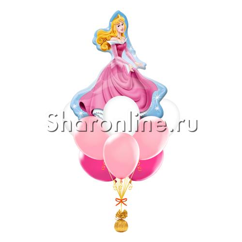 """Фото №1: Букет шаров """"Маленькая принцесса"""""""