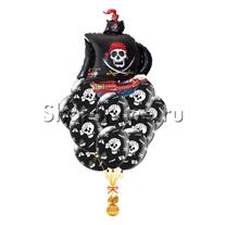 """Букет шаров """"Настоящий пират"""""""