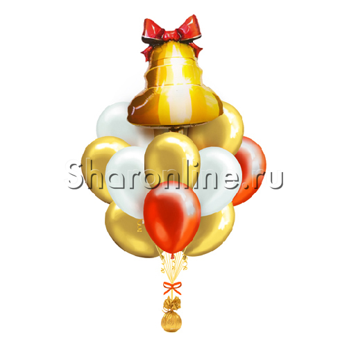 Фото №1: Букет шаров Последний звонок