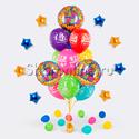 """Фото №1: Букет шаров """"С Днем Рождения"""""""