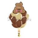 """Фото №1: Букет шаров """"Шоколадное мороженое"""""""