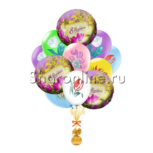 """Фото №1: Букет шаров """"Тюльпаны"""""""
