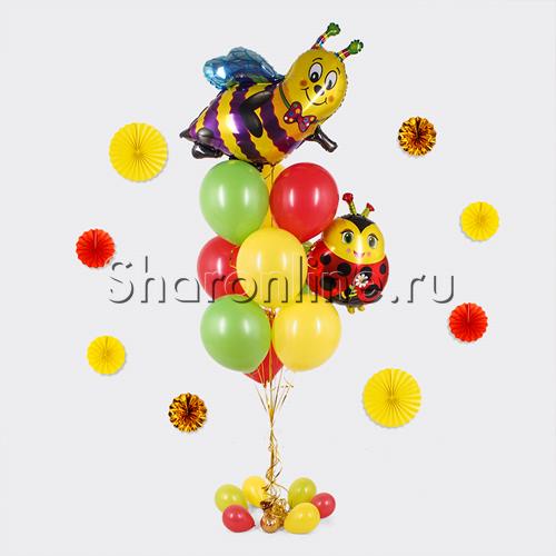 """Фото №1: Букет шаров """"Весенний День рождения"""""""