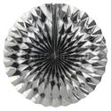 Фото №1: Фольгированный серебряный диск 40 см
